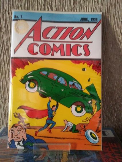 Custom Super Powers Superman Action Comics #1 from 1938