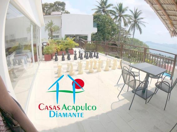 Cad Villas Leo 7 Y 8. Terraza Con Vista A La Bahía