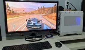 Pc Gamer Mini Itx+monitor 27 Fullhd C/ Chromecast