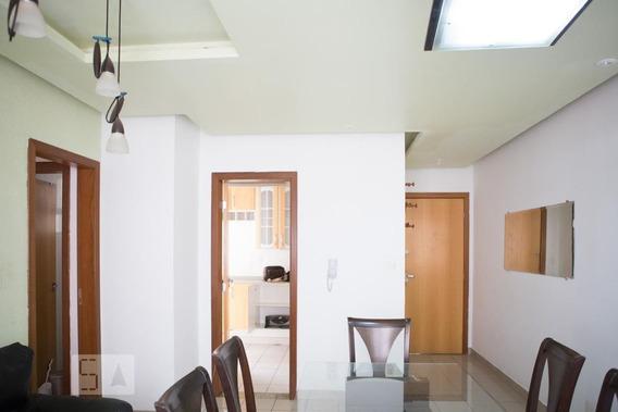 Apartamento No 1º Andar Mobiliado Com 3 Dormitórios E 2 Garagens - Id: 892987121 - 287121
