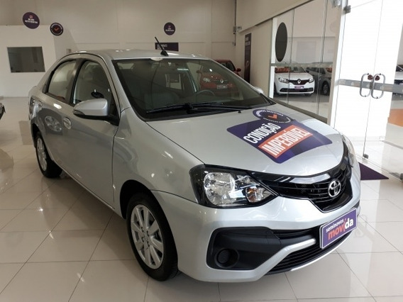 Etios 1.5 X Plus Sedan 16v Flex 4p Manual 27035km