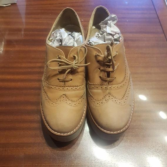 Zapatos Con Plataforma Nro 37/8