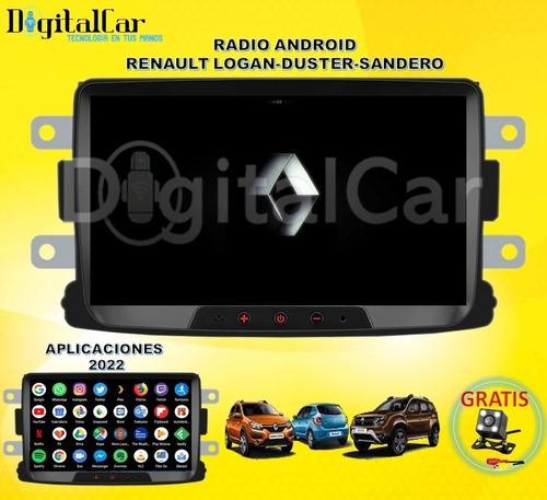 Imagen 1 de 4 de Radio Android Renault Logan Sandero Duster + Gps + Camara