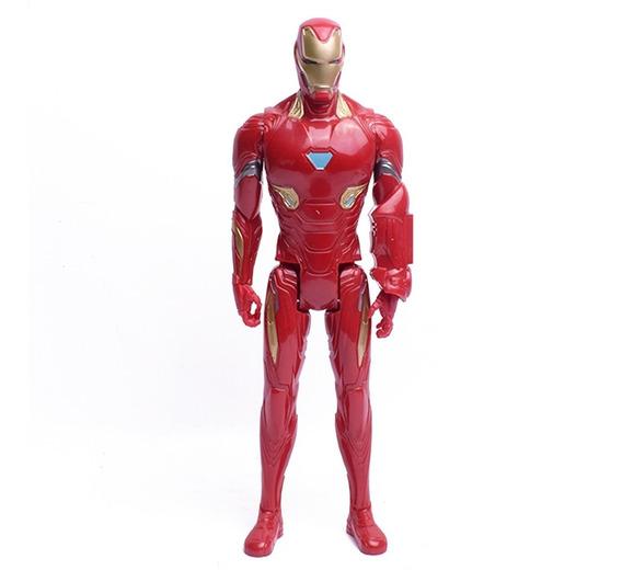 Avengers Iron Man Muñeco Titan Hero 30 Cm Original Hasbro
