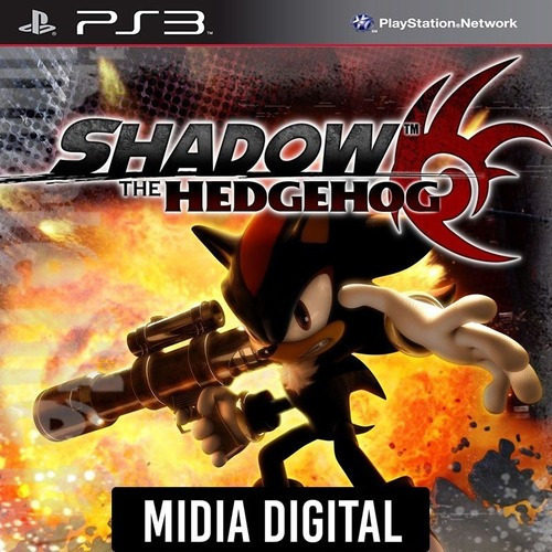 Ps3 Psn* - Shadow The Hedgehog