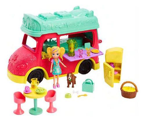 Imagen 1 de 1 de Polly Pocket! Camión De Licuados
