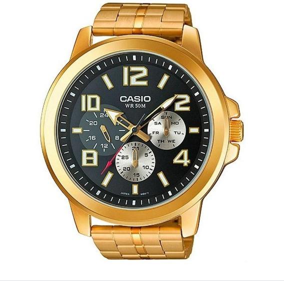Relógio Casio Collection Masculino Mtp-x300zg1av