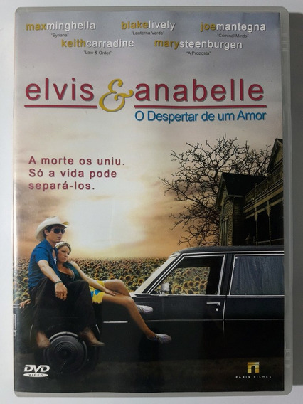 Dvd Elvis & Anabelle O Despertar De Um Amor Max Minghella Or