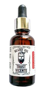 Aceite Estimulante Crecimiento De Barba Trust Vicente Barber