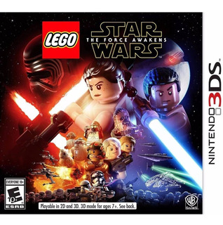 Lego Star Wars The Force Awakens Nintendo 3ds Nuevo