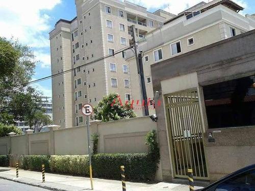 Cobertura Com 3 Dormitórios À Venda, 67 M² Por R$ 380.000,00 - Bangu - Santo André/sp - Co0642