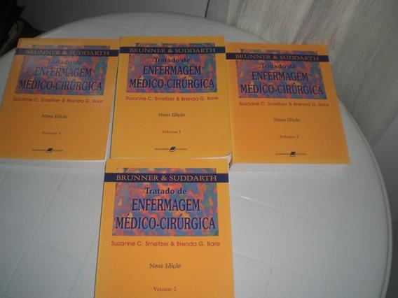 Livro-tratado De Enfermagem Médico Cirurgica-vol.1,2,3,4