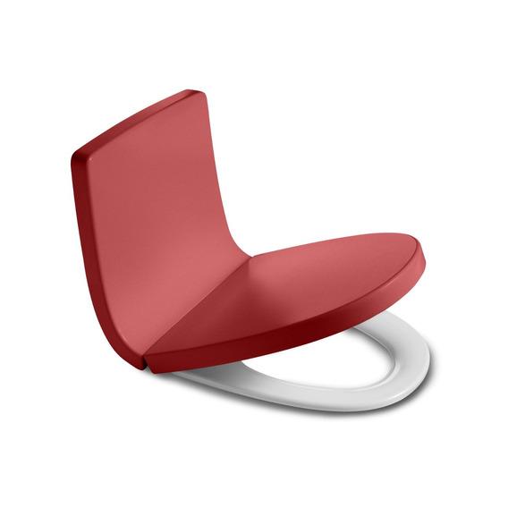 Assento Termoformado Amortecido Khroma Roca Vermelho Hd