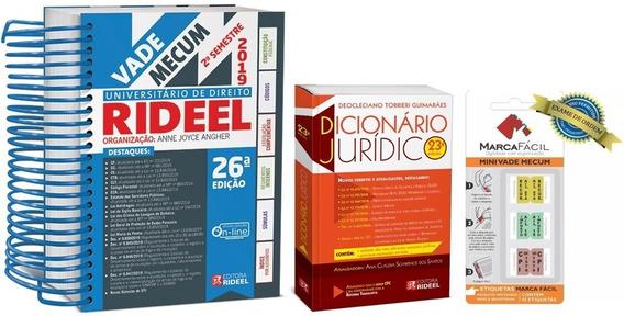 Vade Mecum Universitário Direito + Dicionário + Etiquetas