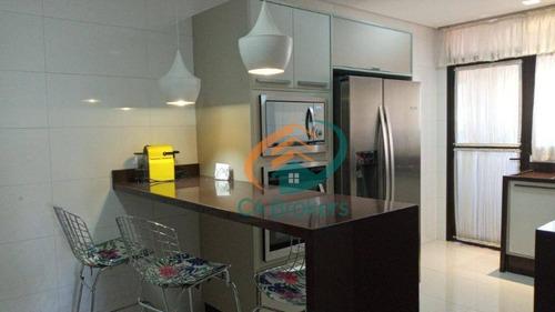 Imagem 1 de 29 de Apartamento Com 3 Dormitórios À Venda, 130 M² Por R$ 750.000,00 - Vila Galvão - Guarulhos/sp - Ap2519
