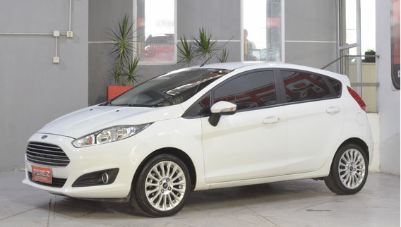 Ford Fiesta Se Nafta 2015 5 Puertas Color Blanco Imperdible!