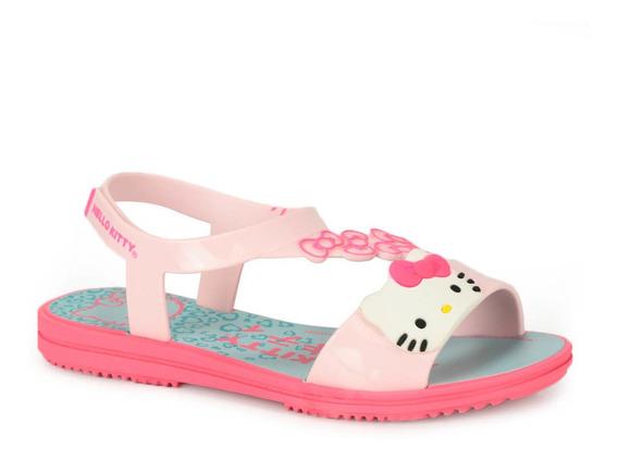 Sandália Infantil Grendene Hello Kitty