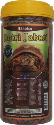 Imagem 1 de 1 de [lançamento] Nutrijabuti 1.2 Kg - Ração Para Jabutis