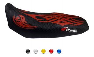 Capa De Banco Para Moto Honda Personalizada Cg Fan Titan Bros Xre Cb 300 Falcon Tornado Tribal 12075
