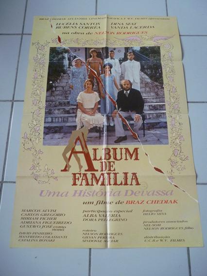 Album De Familia, Cartaz 1981, Com Lucélia Santos, Dina Sfat