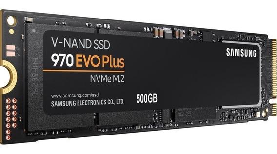 Ssd Samsung 970 Evo Plus 500 Gb Nvme M.2