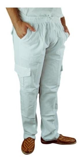 Pantalón De Manta Tipo Cargo