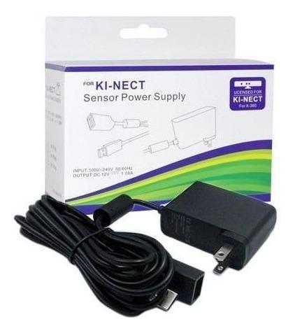 Kinect 360 Slim (semi-novo) + Adaptador Para Xbox Arcade