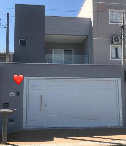 Vendo Casa - Residencial Jaguari - Americana - Sp - Ca0571