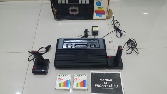Atari Dactar Com Caixa Manual 2 Controles E 2 Cartuchos