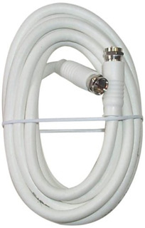 Black Point Products Bv 083 White 12 Foot Rg 6 H.d. Coax