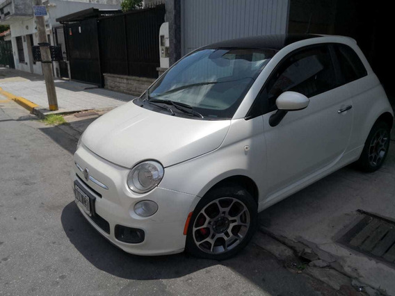 Fiat 500 1.4 Sport Techo Y Cuero 2014