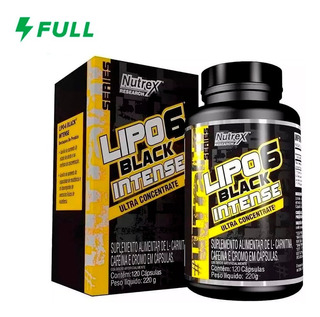 Lipo 6 Black Intense Ultra Concentrado (120 Caps) - Nutrex
