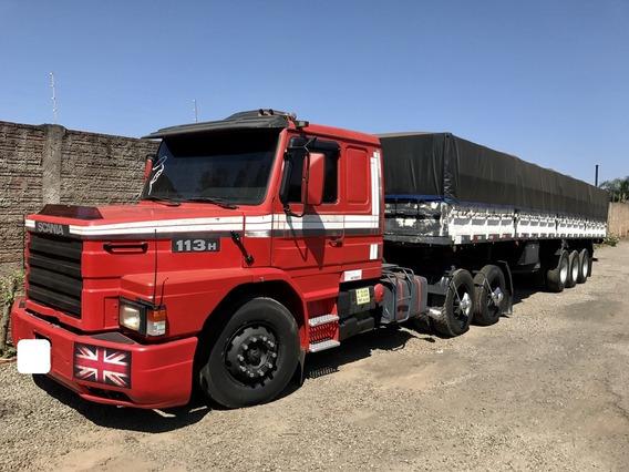 Scania 113 360 6x2 Cavalo Truck