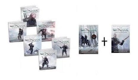 Livros Coleção Completa Witcher