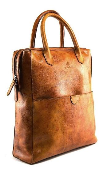Back Pack De Dama 100% Piel - Color Miel