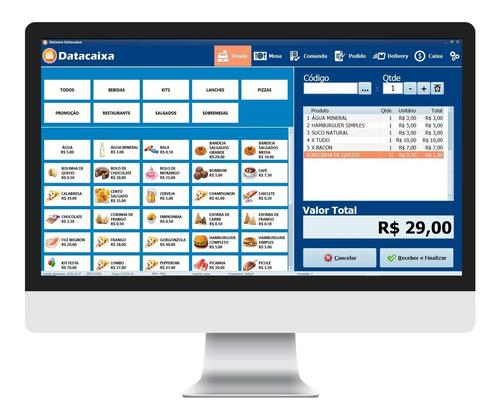 Sistema Datacaixa Pdv Emissor Nfce E Cupom Fiscal Eletrônico
