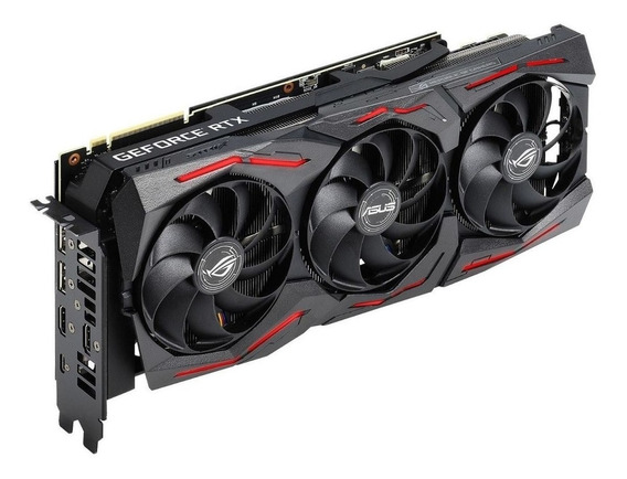 Placa de video Nvidia Asus GeForce RTX 20 Series RTX 2070 SUPER ROG-STRIX-RTX2070S-A8G-GAMING Advanced Edition 8GB