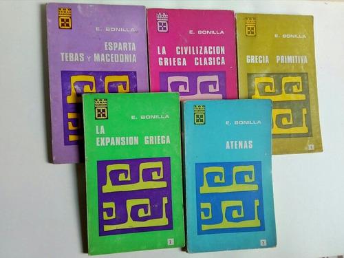 E. Bonilla, 5 Libros Básicos De Historia Universal