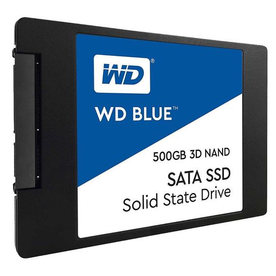 Disco Interno Ssd Wd 500 Gb Blue Sata Estado Solido