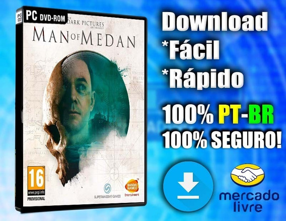 The Dark Pictures: Man Of Medan - Pc - Completo Em Português