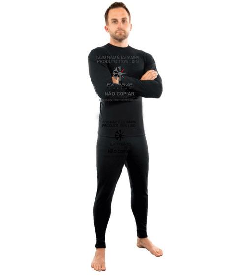 Roupa Térmica Para Neve Extreme Com Fleece Calça + Blusa