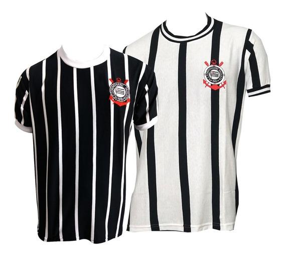 Camisa Corinthians 77 + 71 Retrô