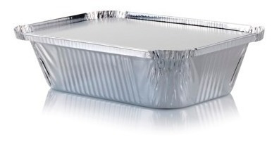 Envase Desechable Aluminio C20 C/tapa (20 Unidades)