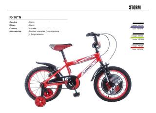 Bicicleta R16 Storm Niño
