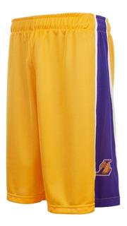 Short De Basquet Los Angeles Lakers Lic Oficial Nba Basket