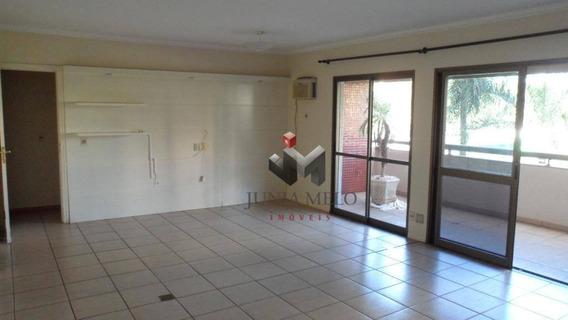 Apartamento Com 3 Dormitórios Para Alugar, 170 M² Por R$ 2.000/mês - Edifício Rive Gauche Santa Cruz Do José Jacques - Ribeirão Preto/sp - Ap1753