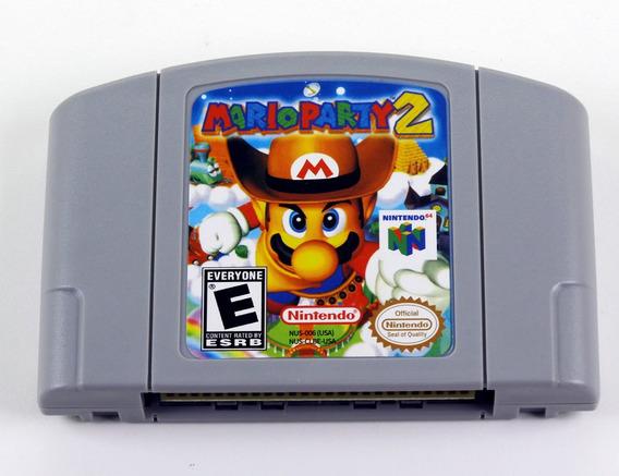 Mario Party 2 Nintendo 64 N64 - Americano Novo Salvando