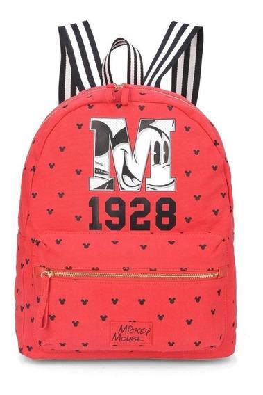 Bolsa Mochila Mickey Coleção 90 Anos Disney 78401 Original