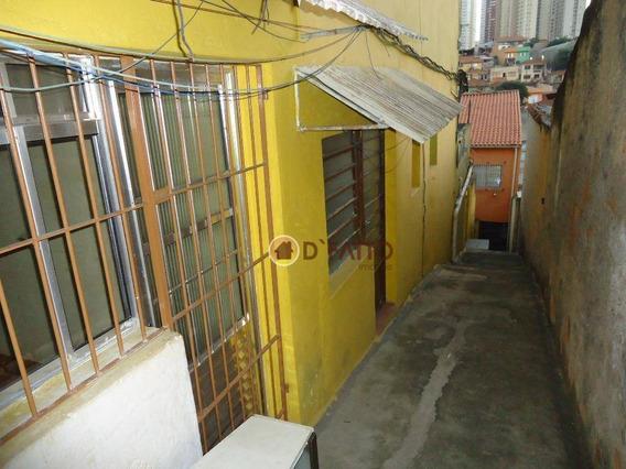 Casa Residencial Para Locação, Vila Moreira, Guarulhos. - Ca0432