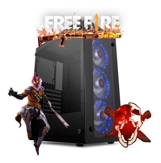 Pc Gamer Para Free Fire E Fazer Live 8gb Ram 3200mhz + Ssd